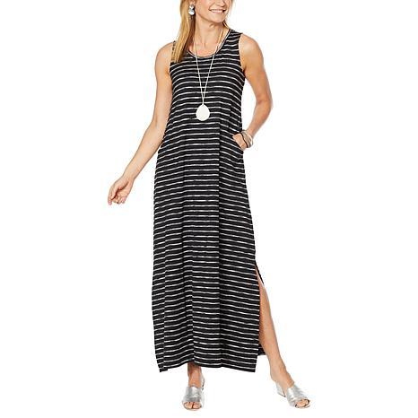 MarlaWynne Maxi Dress with Pockets