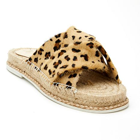 Matisse Cruise Suede or Printed Cow Hair Espadrille Sandal