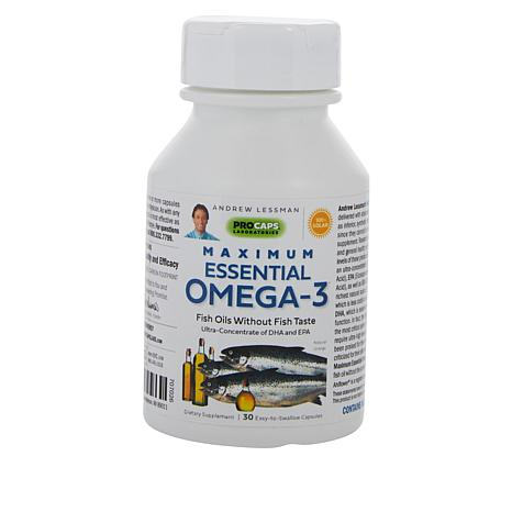 Maximum Essential Omega-3 Orange - 30 Capsules