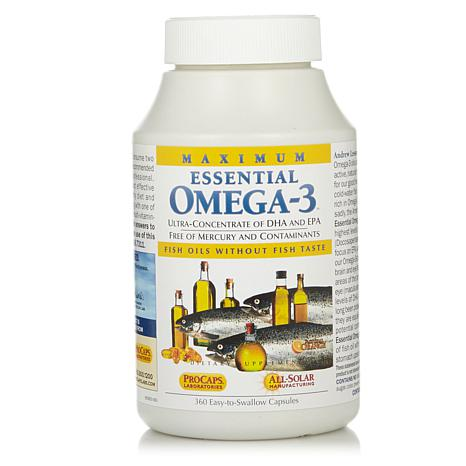 Maximum Essential Omega-3 - Orange - 360 Capsules