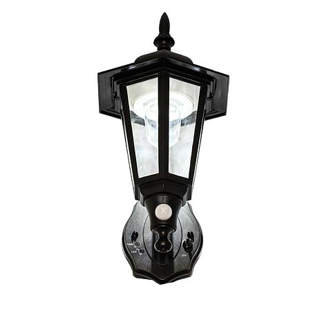 Maxsa Motion-Activated Outdoor Plastic LED Wall Sconce