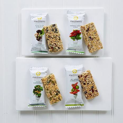 Mediterra Nutrition Bar Variety 12-pack - Savory