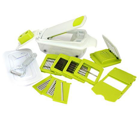 MegaChef 8 in 1 Multi-Use Slicer Dicer and Chopper with Interchange...