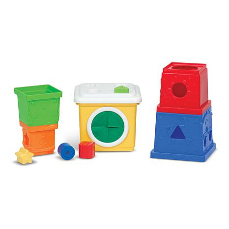 Melissa & Doug K's Kids Stacking Block Set