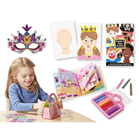Melissa and doug lets play girls arts and crafts bundle d