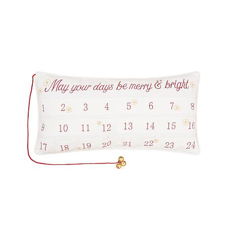 Merry & Bright Advent Pillow
