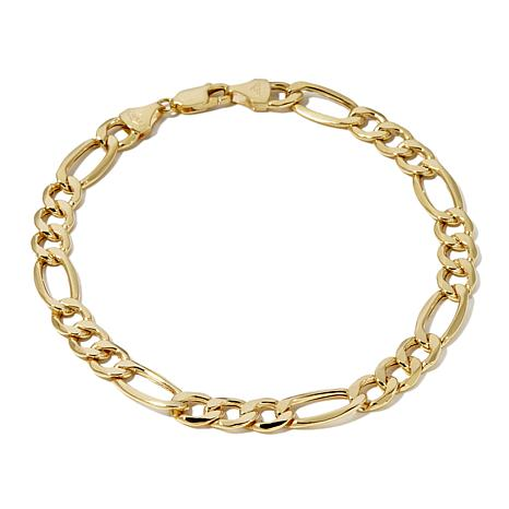 "Michael Anthony® 10K Yellow Gold Figaro 9"" Bracelet"