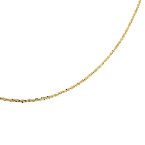 Michael Anthony Jewelry® 10K 1.1mm Brilliant Chain 16""