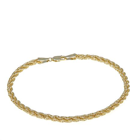 Michael Anthony Jewelry® 10K 3.5mm Rope Chain - 8""