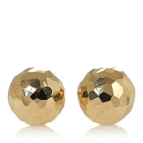 Michael Anthony Jewelry® 10K Diamond-Cut Stud Earrings