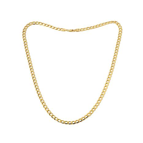 Michael Anthony Jewelry® 10K Gold Curb Link Necklace