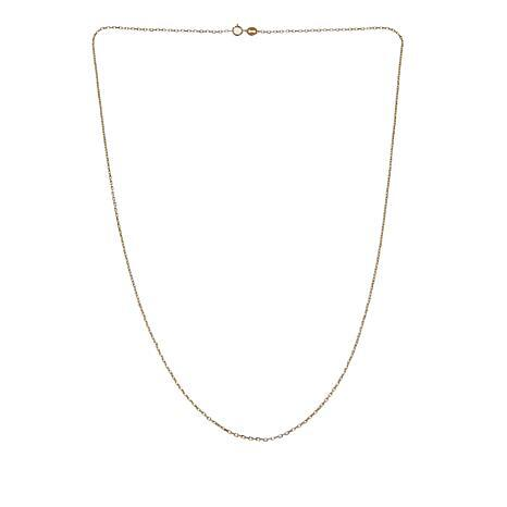 """Michael Anthony Jewelry® 10K Gold Trapesium Chain 20"""" Necklace"""