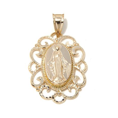 Michael anthony jewelry 10k virgin mary pendant 7961392 hsn michael anthony jewelry 10k virgin mary pendant aloadofball Choice Image