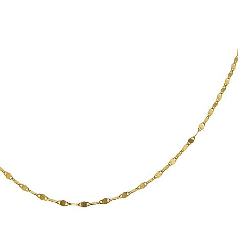"""Michael Anthony Jewelry® 14K Twisted Mariner Link 20"""" Chain Necklace"""