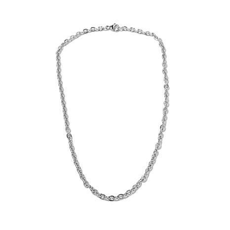 "Michael Anthony Jewelry® 18"" Ribbed Cable Chain"