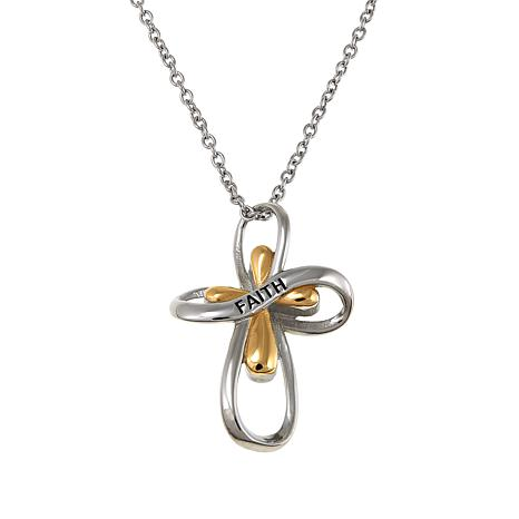 baribault necklaces jewelry fine best images on cross gold com necklace pinterest tacori infinity with rhinestone