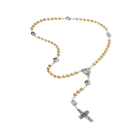 Michael Anthony Jewelry® 2-Tone Rosary