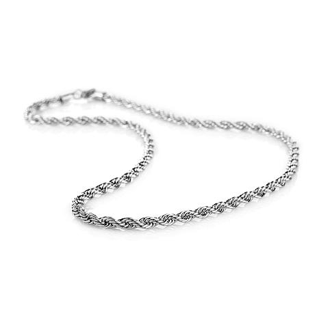 "Michael Anthony Jewelry® 6mm Rope Chain 18"" Necklace"