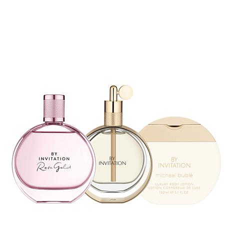Michael Bublé By Invitation and By Invitation Rose Gold EDP & Lotion