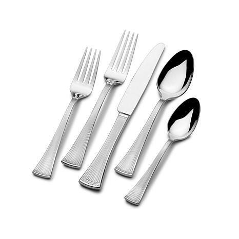 Mikasa Flair 65 Piece Flatware Set 8209093 Hsn