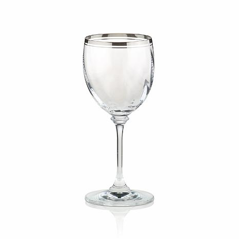 Mikasa Stephanie Platinum Wine Glass