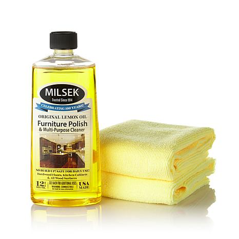 Milsek One Step Furniture Polish with Lemon Oil