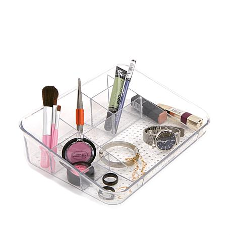 Mind Reader 7-Compartment Acrylic Cosmetic Organizer