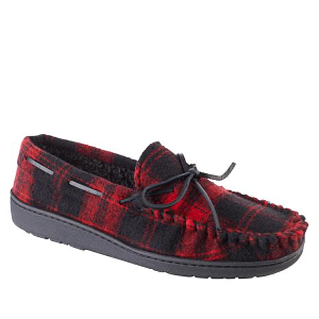 Minnetonka Jonah Men's Flannel Slipper