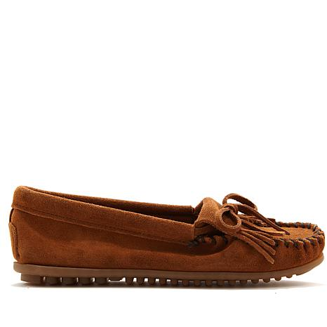"Minnetonka ""Kilty"" Suede Loafer Moccasin"