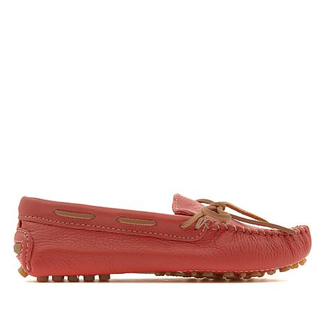 Minnetonka Leather Classic Driver Moccasin