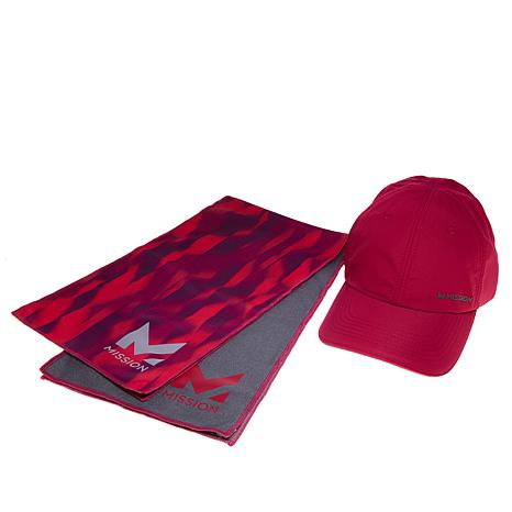 9e54bfeef MISSION™ HydroActive MAX Cooling Towels and Cooling Hat