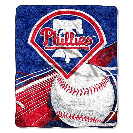 "MLB 50"" x 60"" Sherpa Throw by Northwest - Phillies"