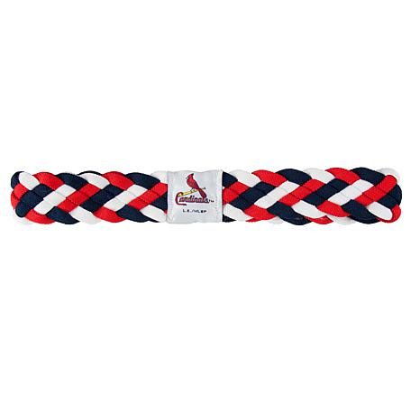 MLB Braided Headband - Cardinals