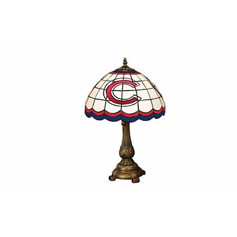 Mlb tiffany style table lamp chicago cubs 5693472 hsn mlb tiffany style table lamp chicago cubs aloadofball Choice Image