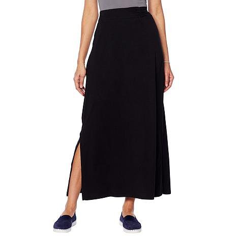 ModernSoul® Easy Knit Jersey Maxi Skirt