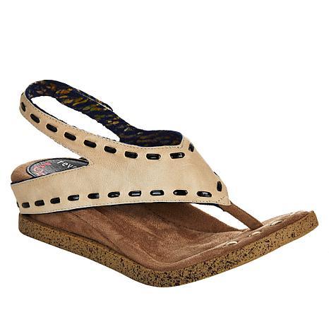 Modzori Feena 2-in-1 Reversible Wedge Slingback Sandal