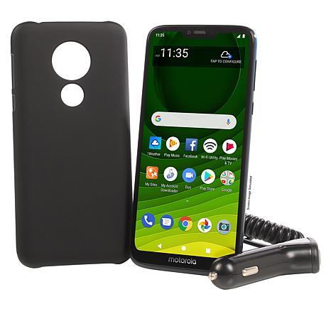 "Motorola Moto G7 6.2"" HD+ Tracfone with 1500 Min/Text/Data"