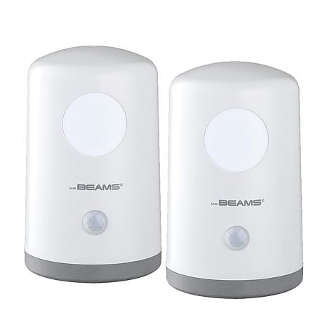 Mr. Beams 2pk Wireless LED Stand Anywhere Lights