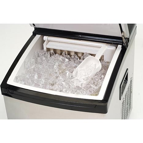 Charmant Mr. Freeze Stainless Steel Portable Clear Ice Cube Maker   7231118   HSN
