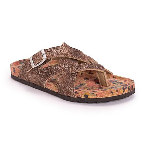 MUK LUKS Womens Shayna Sandals
