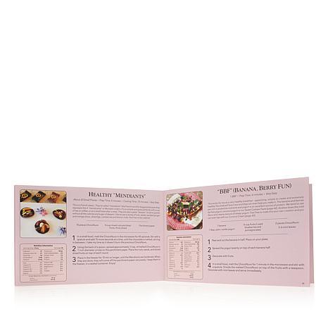 muriel s choconuvo creations cookbook 8384095 hsn