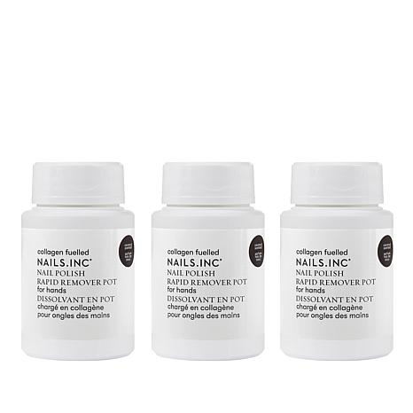 Nails.INC 3-piece Polish Remover