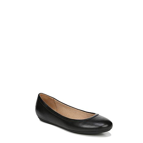 Naturalizer Brittany Flat Leather or Suede Skimmer