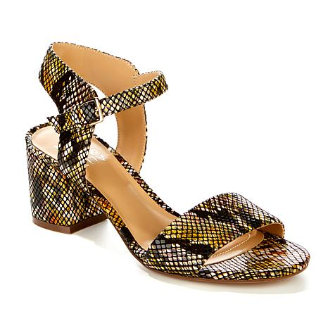 Naturalizer Caitlyn Leather Block-Heel Sandal