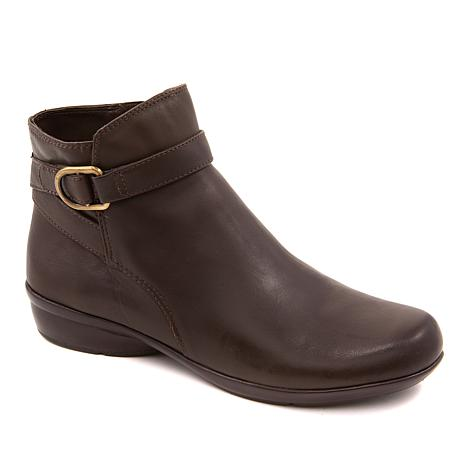e94768a0eb64b Naturalizer Colette Leather Ankle Bootie - 8860728 | HSN