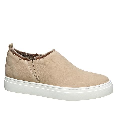 Naturalizer Cypress Leather Faux Fur Lined Sneaker