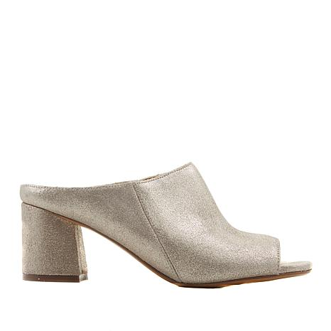 Naturalizer Cyprine Leather Open-Toe Block-Heel Mule