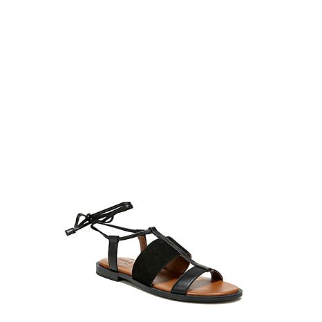 Naturalizer Fayee Ankle Wrap Flat Sandal