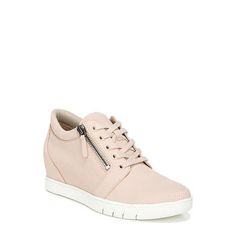 Naturalizer Kai Leather Hidden Wedge Sneaker