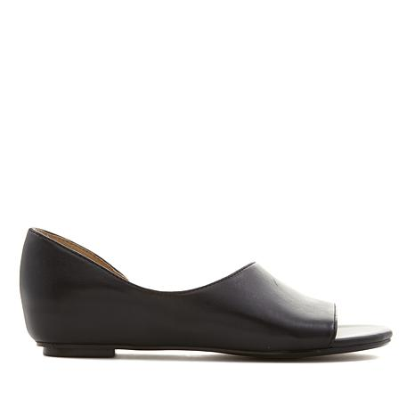 Naturalizer Lucie Leather Hidden Wedge Flat